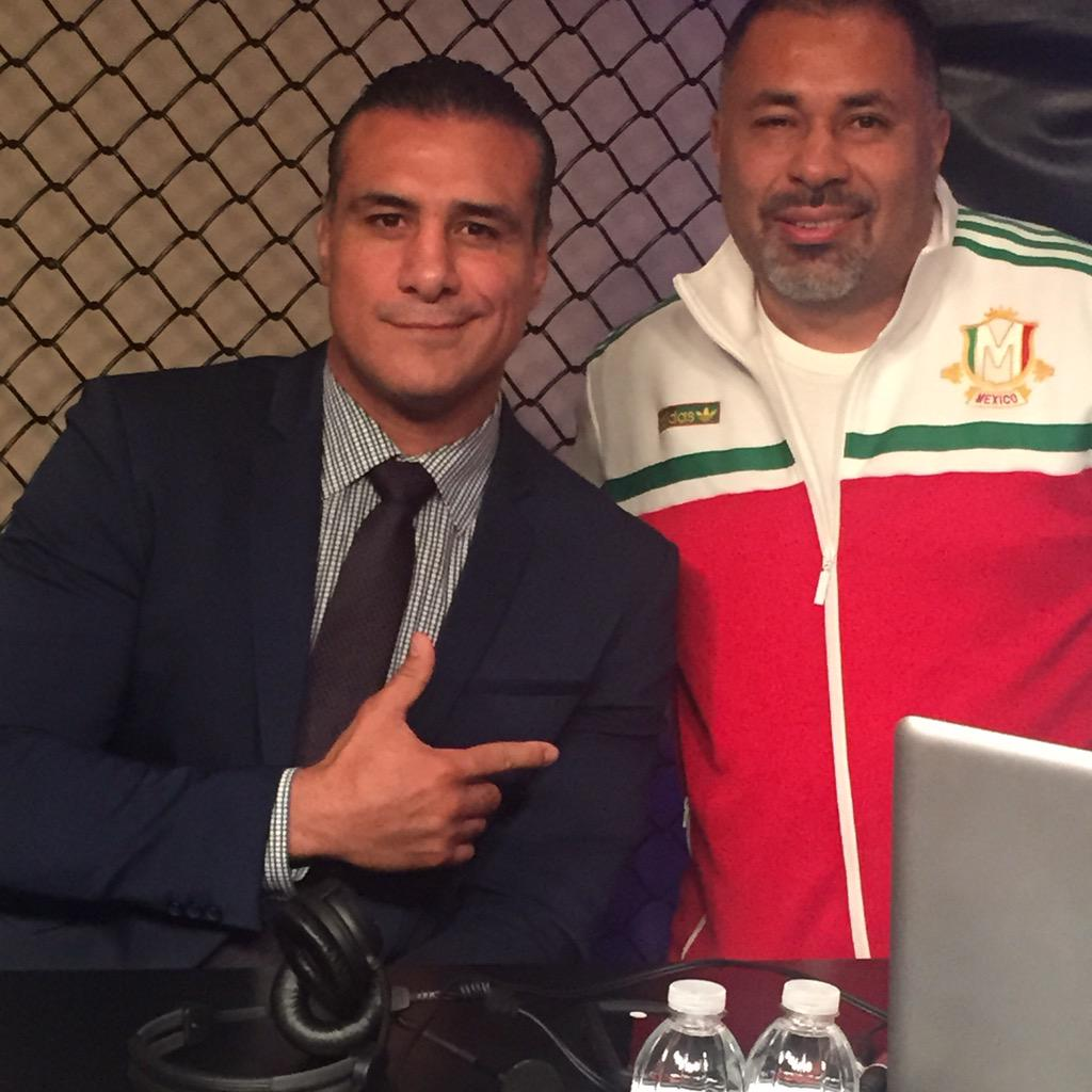 . @VivaDelRio is LIVE in-studio at @MMAjunkieRadio now with @MMAjunkieGeorge - listen LIVE now #WWE and #MMA fans!! http://t.co/7lHyo9ikBE