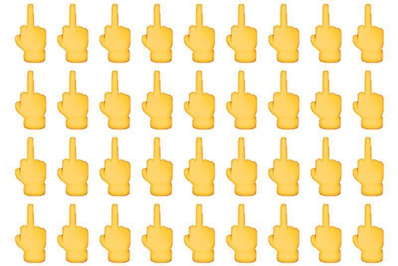 Happy Middle Finger Emoji Day! #iOS9 http://t.co/gWsU70fesz