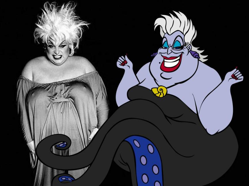 """Divine on Twitter: """"#Divine was the inspiration for Ursula the Sea Witch  from @Disney's #TheLittleMermaid (1989) http://t.co/t6PIYdxzVF"""""""