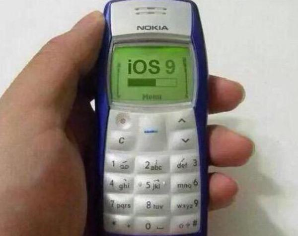 Time to snake. #iOS9 http://t.co/S2sDCMkQY0