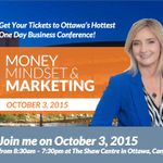 """""""Looking forward to connecting with @lisalarter at her event in October http://t.co/6lMqBJjlMO #MMMEvent"""""""