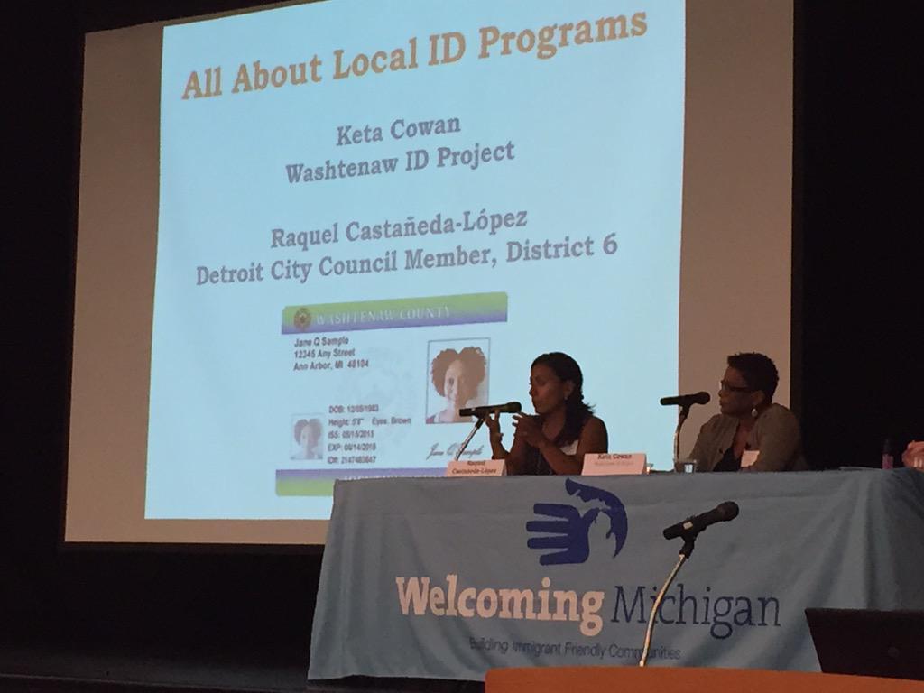 Detroit is building a broad coalition around municipal IDs @Raquel4Detroit @MayorMikeDuggan Duggan #WelcomingMI http://t.co/TohffcleWU