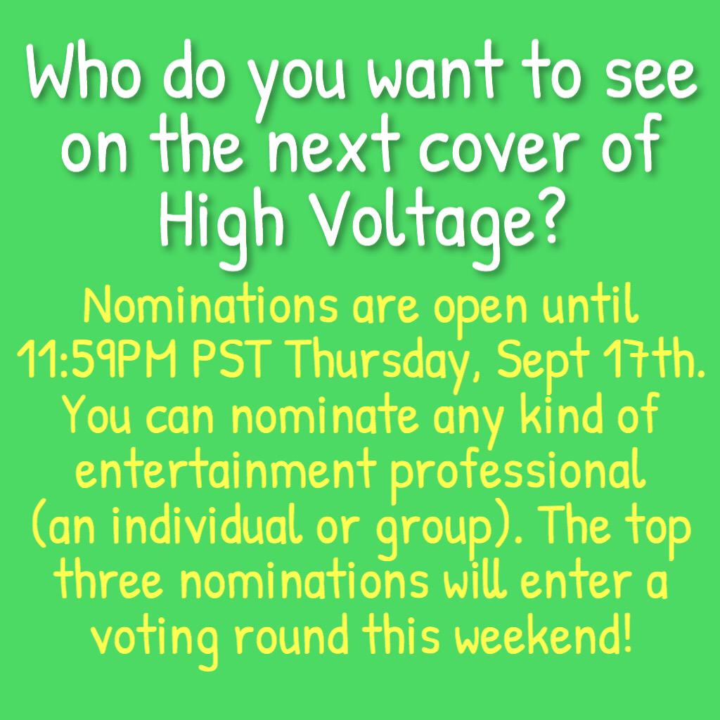 My nomination for the next @highvoltagemag cover goes to: @SamHeughan! #Outlander http://t.co/OleDBWDgzi