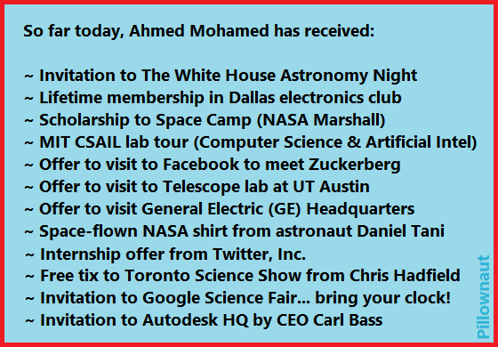Ahmed Mohamed #Science Update #2 @IStandWithAhmed #IStandWithAhmed  ;) http://t.co/xw0lYDUsBZ