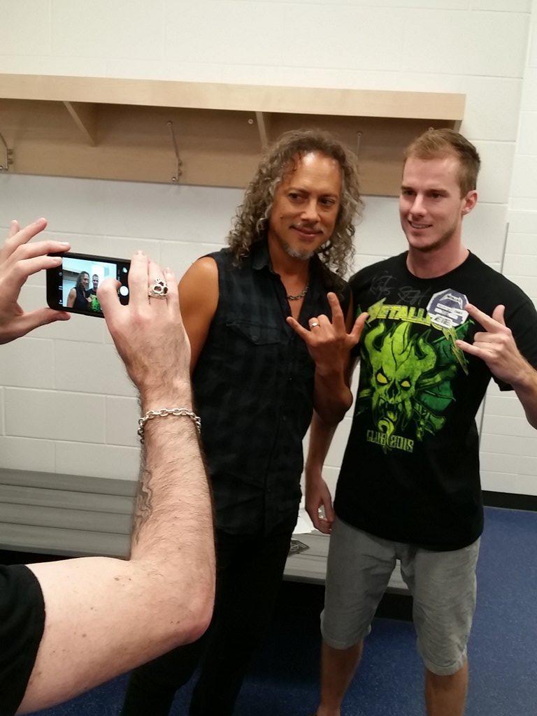 Metallica on twitter kirk in the meet and greet metallica metallica on twitter kirk in the meet and greet metallica metontour metallicainquebec httptpmktugutsi m4hsunfo