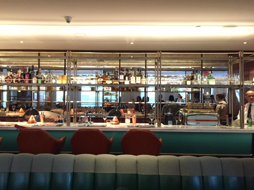checking out the new Cafe Boulud @FSToronto ! gorgeous new space. #thenewboulud @CafeBouludTO http://t.co/YhQzZTnlY5