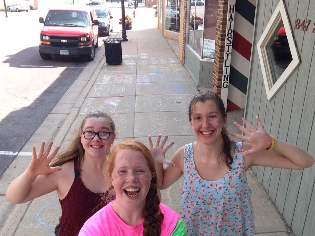 @JacksonCoReads We CHALKED downtown! Go Check it out! #getOTL http://t.co/g0KTST55Jv