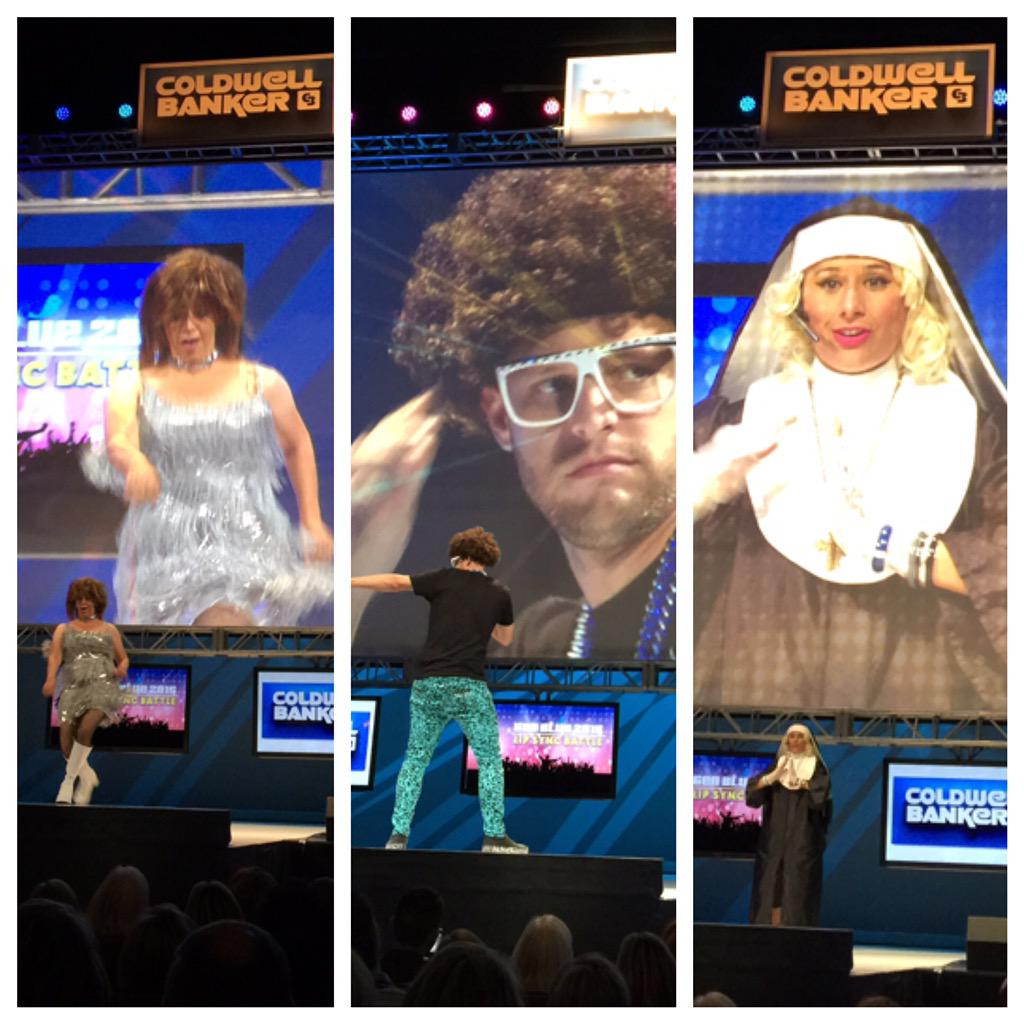 Lipsync showdown at @ColdwellBanker #GenBlue who will be crowned the mic drop king or queen? http://t.co/WCIvFaXDd8