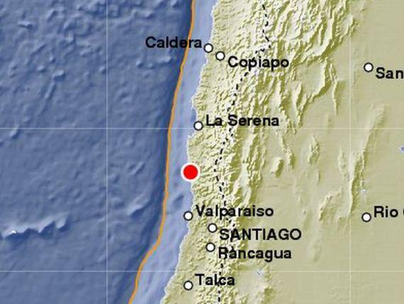 Terremoto Oggi Cile con allarme Tsunami dopo sisma M7,9