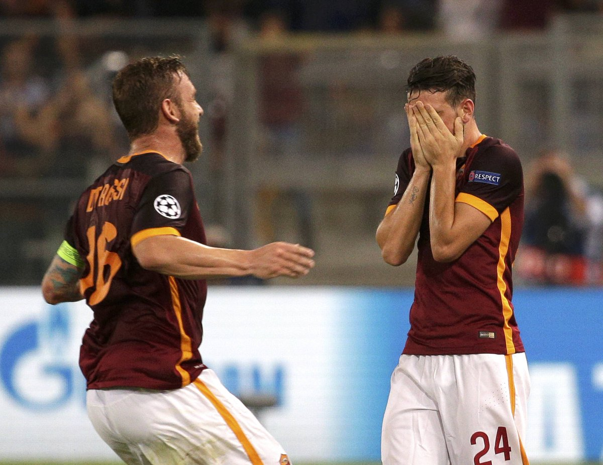 AS Roma 1-1 Barcelona Match Report