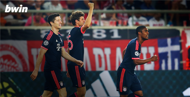 Video: Olympiakos Piraeus vs Bayern Munich