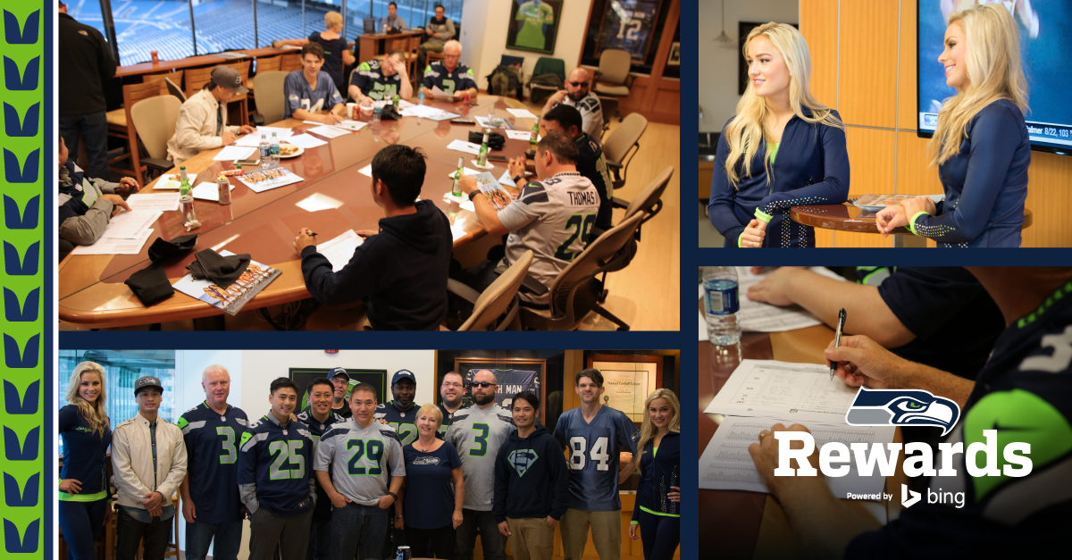 These @12s had their #FantasyDraft at @CenturyLink_Fld just by using @bing. Whos next? [shwks.com/369e]
