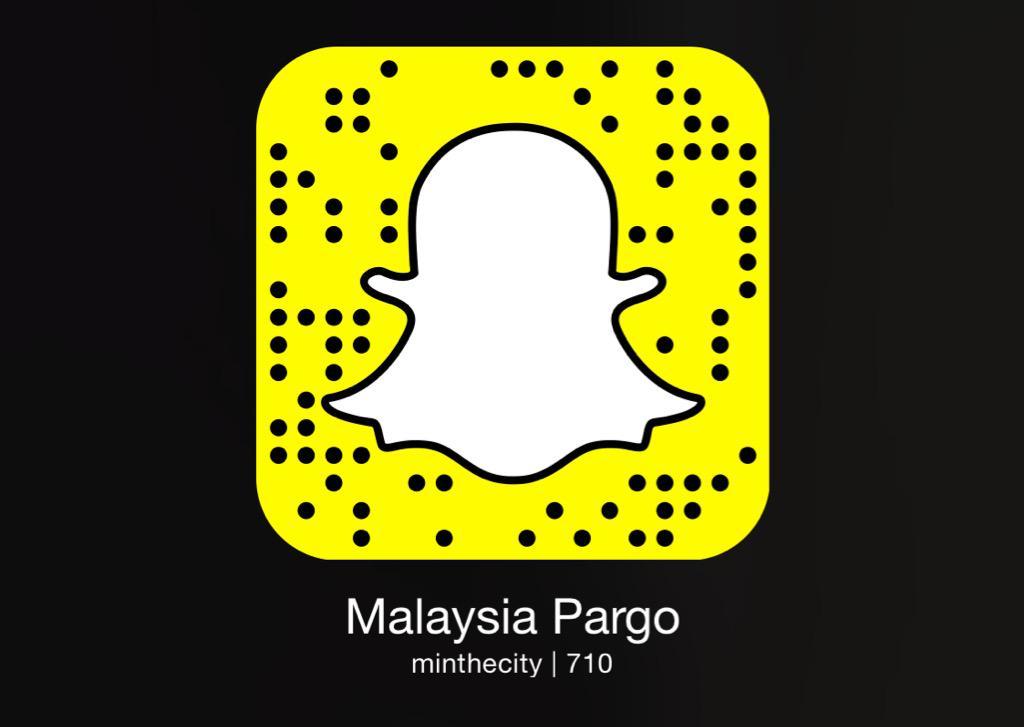 Malaysia pargo snapchat