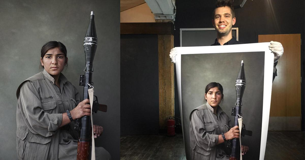 Photographer Joey L.'s photos of Kurdish PKK fighters deleted by Instagram: http://t.co/WcDiAms4gf http://t.co/zeI6te73jv