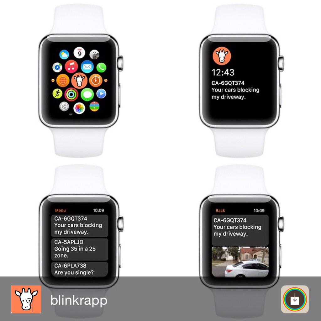 Just a taste of what we are working on for #applewatch #producthunt #iphone #drive #blinkr #startups #apple #roadrage http://t.co/aEe5AADcjv