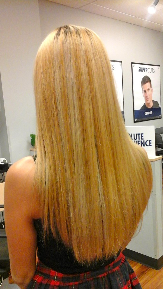 supercuts fc on twitter full head highlights with dark roots and platinum streaks by our superstylist supercuts fallschurch haircolor