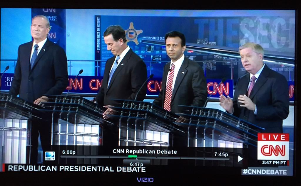 Kids table GOPdebate begins with four Trump questions
