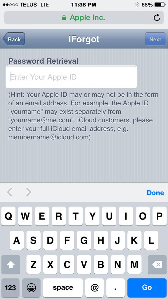 (https //iforgot.apple.com). apple id
