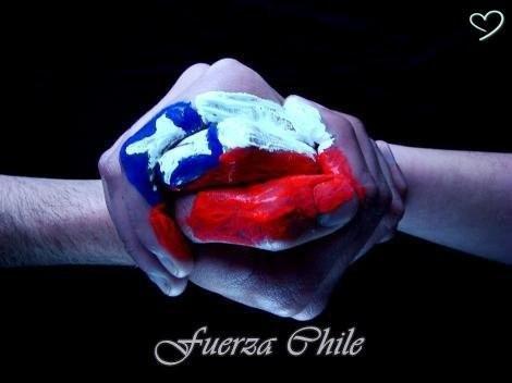 Mi corazón y mis oraciones con todos mis amigos chilenos #FuerzaChile. http://t.co/ilxXvBzlYr
