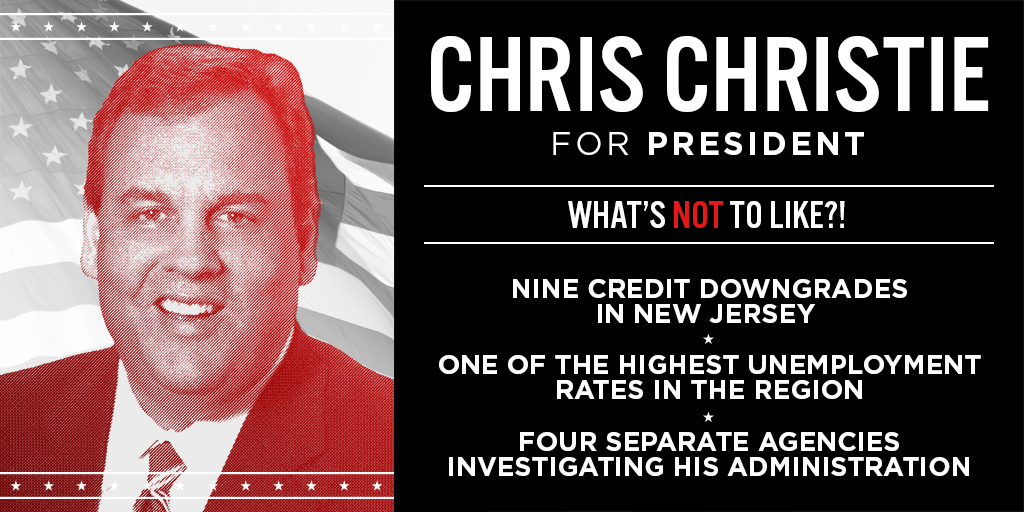 .@ChrisChristie - No one wants to hire you. #Trust #omgop #GOPDebate #gapol http://t.co/uDVkfXa29g