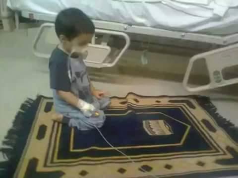 Walaupun ia sedang sakit, ia tetap shalat. Bagaimana dengan Anda sobat? http://t.co/W0Qk65crKt