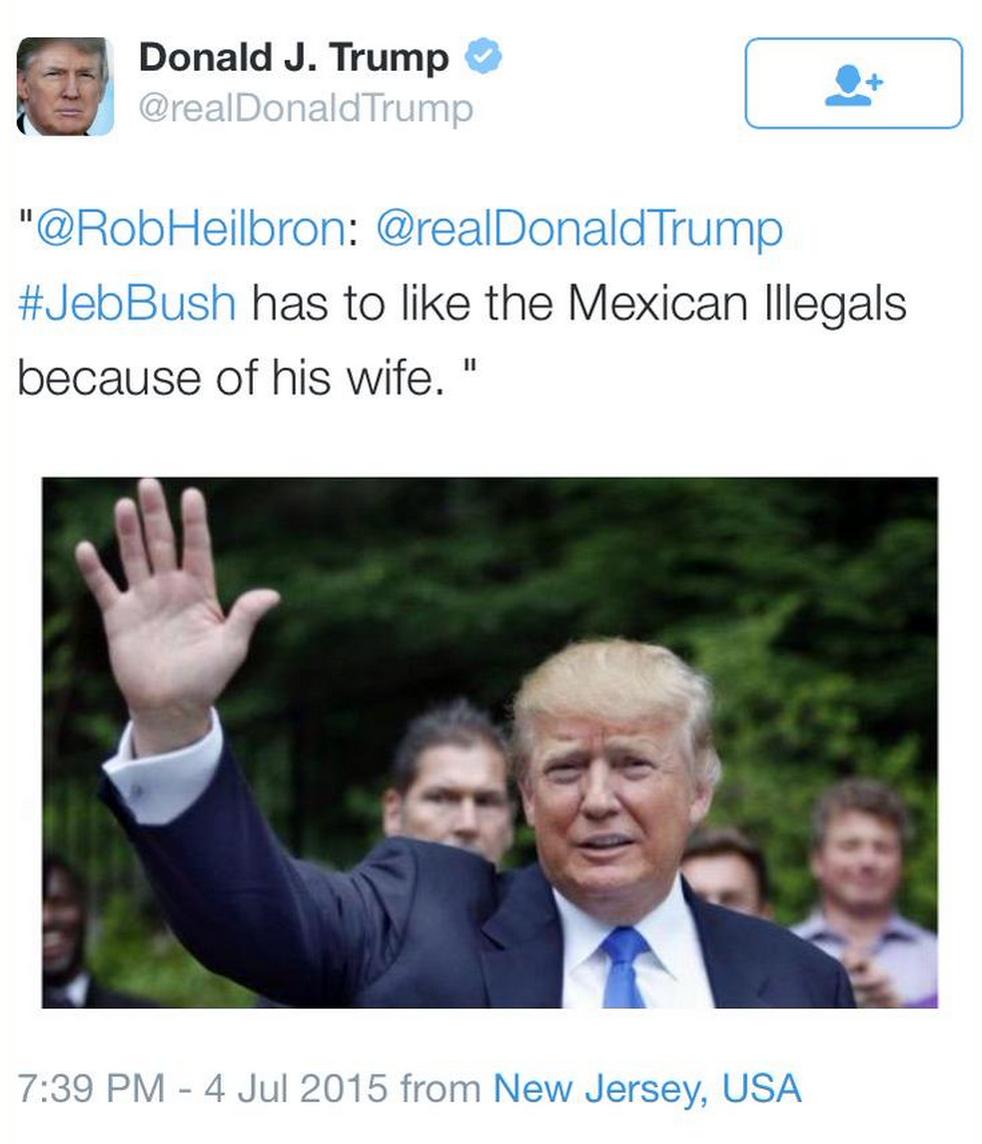 Donald Trump's deleted tweet. #GOPDebate http://t.co/xPQSxSLPOl