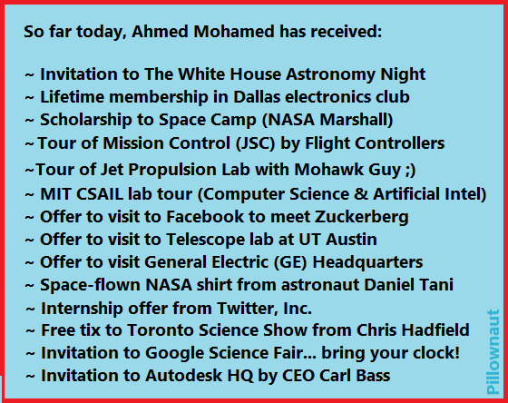 Ahmed Mohamed  #Science Update #3  @IStandWithAhmed  #IStandWithAhmed  :) http://t.co/cbTNkuHLA0