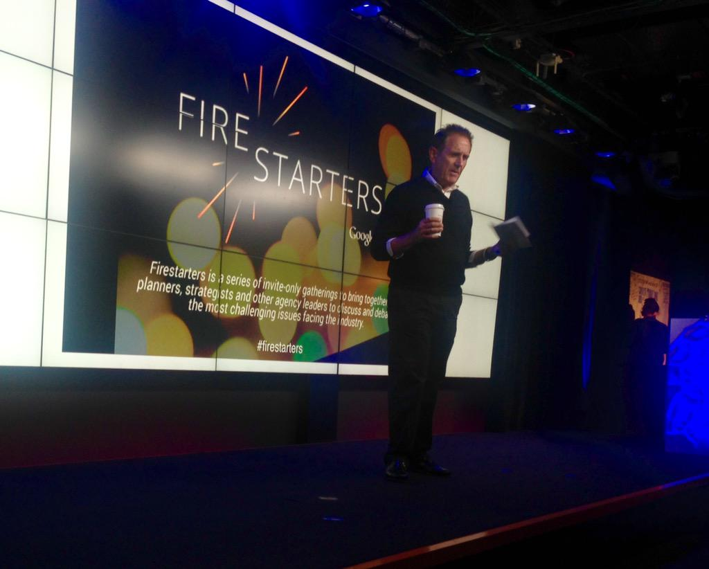 We've lost the power to be simple - @davetrott at #firestarters last night. @neilperkin another brilliant 2 hours. 👌👍 http://t.co/xfgmjedw0x