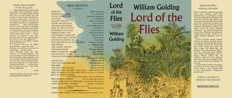 William Golding's first novel, The Lord of the Flies, was published #OnThisDay in 1954.