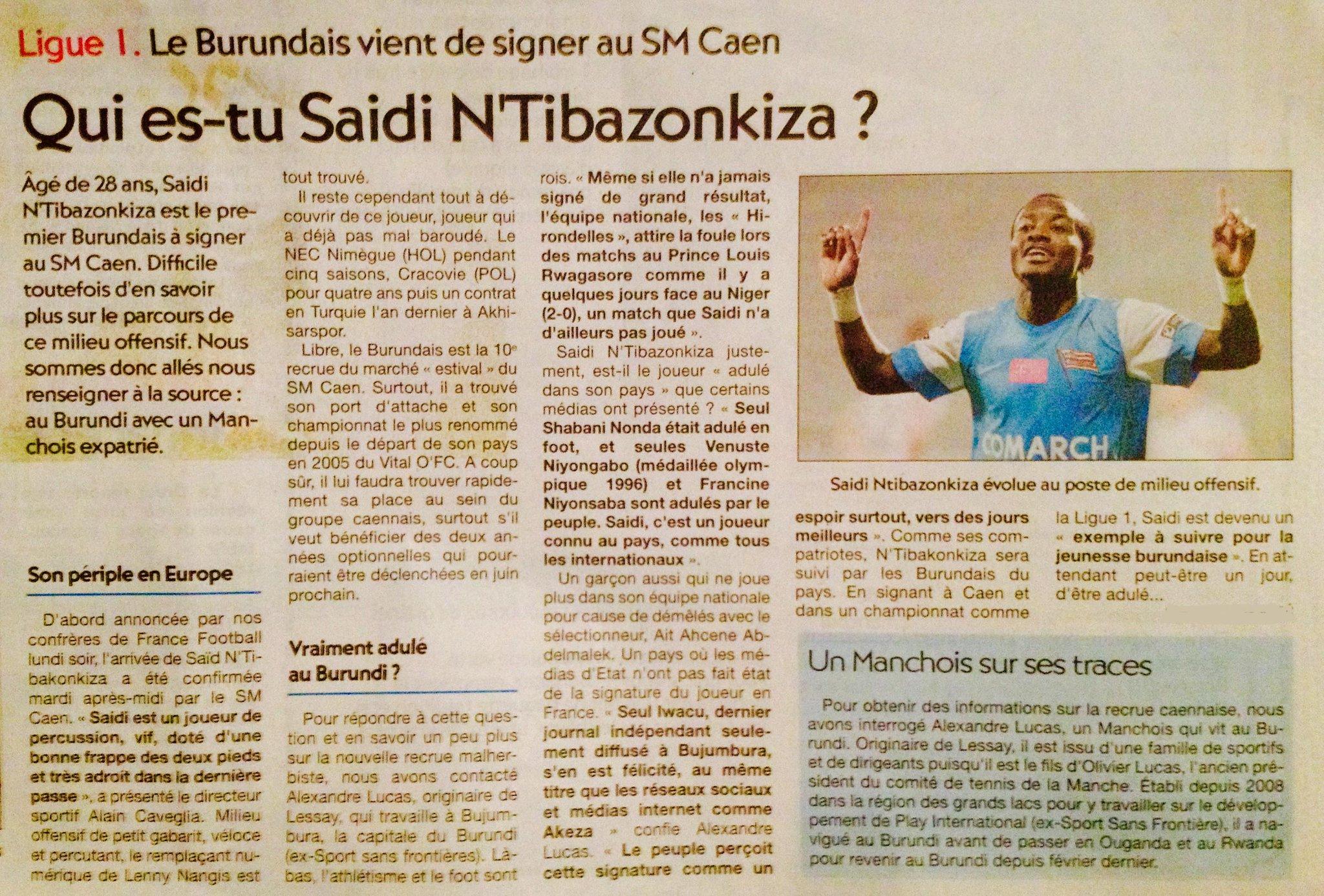 [Arrivée] Saidi Ntibazonkiza / Libre CPFw1_TWwAA1ZoG