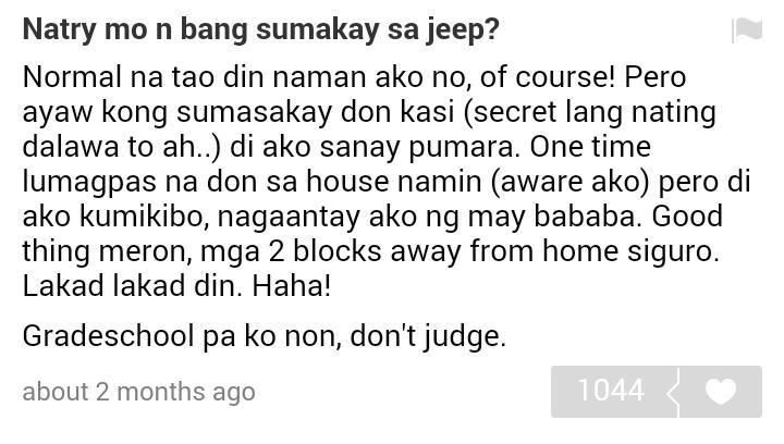 Possible reason why Maine did not choose jeep during the matching game haahha #ALDUBMaiDenForREAL http://t.co/LYCSMofnfl