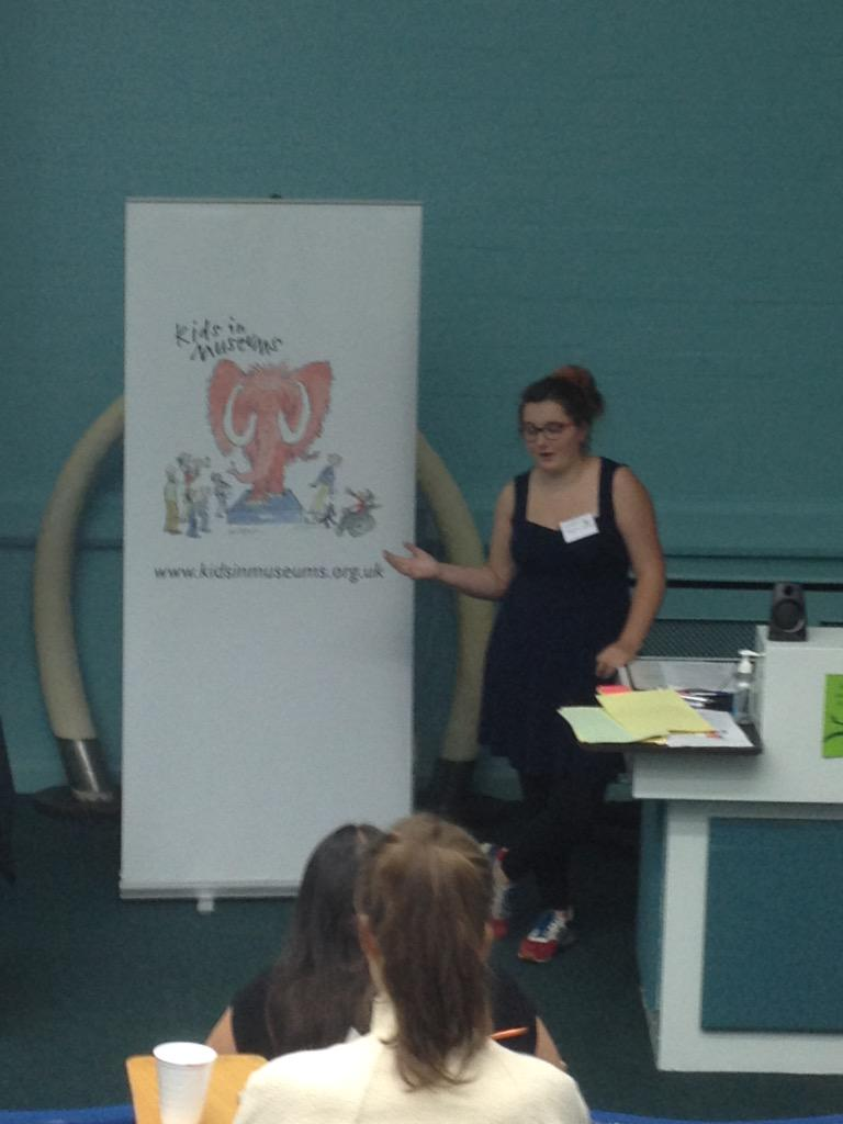 Sally from @ArtsAwardVoice at @kidsinmuseums #teenworkshop talking about why @ArtsAward is great! http://t.co/YiPWQOmTna