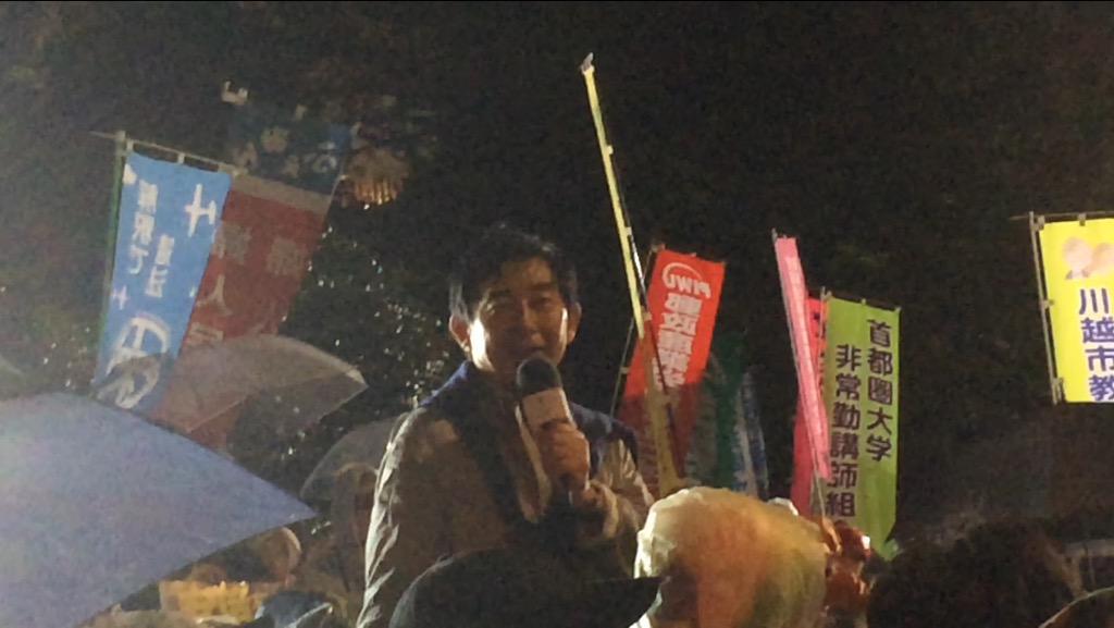 俳優・石田純一さん、6月に安倍と会食するもアンコンされず我を通し国会前へ これは漢ですわ