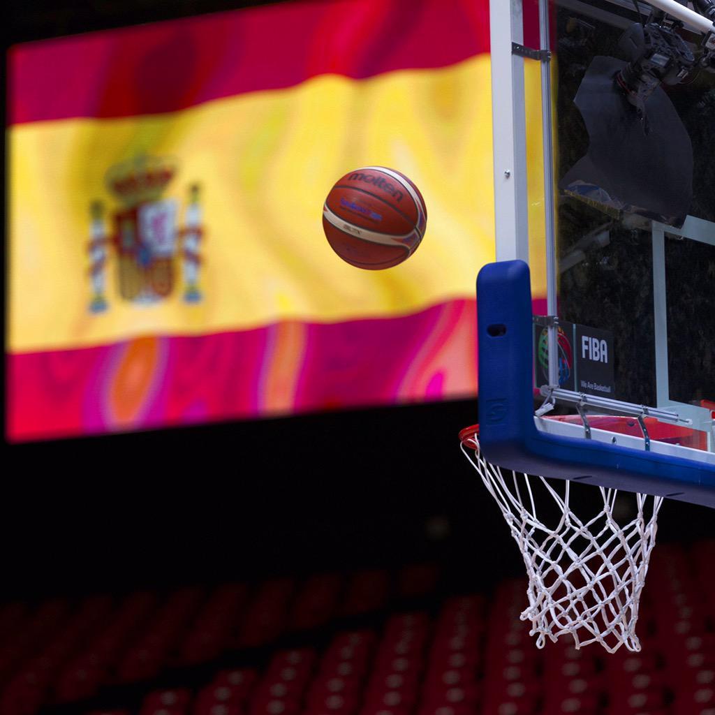 Desde casa o desde la pista, hoy estamos todos juntos en esto. A las 21h vs Francia Vamos! #Eurobasket2015 #ESPBasket http://t.co/wXB00C4J7b