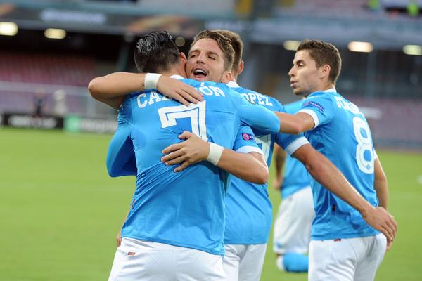 NAPOLI vs Club Brugge VIDEO GOL Risultato in DIRETTA Live calcio in temporeale.
