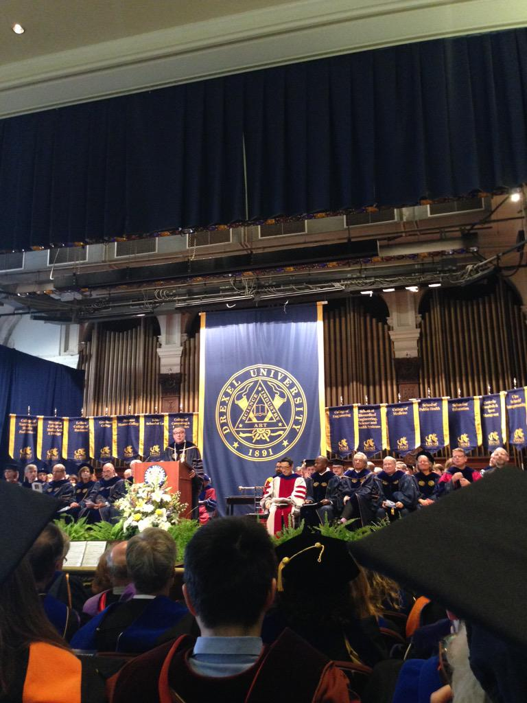 Drexel Convocation marking the start of another academic year #Drexel #Drexelpublichealth