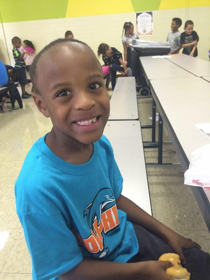 A Kid Who Looks a Lot like LeBron James