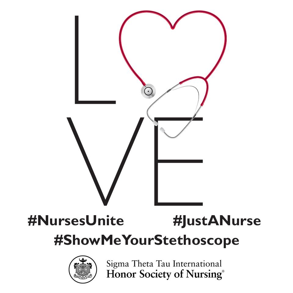 Sigma Theta Tau International has always been about nurses. #NursesUnite #ShowMeYourStethoscope #JustANurse http://t.co/qmjRcxPyB5
