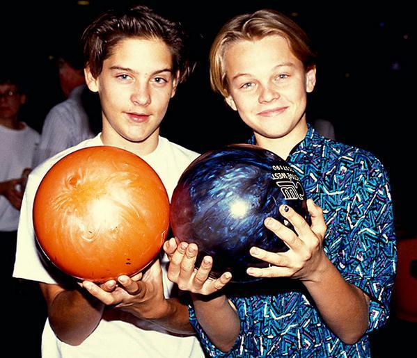 Tobey Maguire & Leonardo DiCaprio pic.twitter.com/7FHRnquuvH