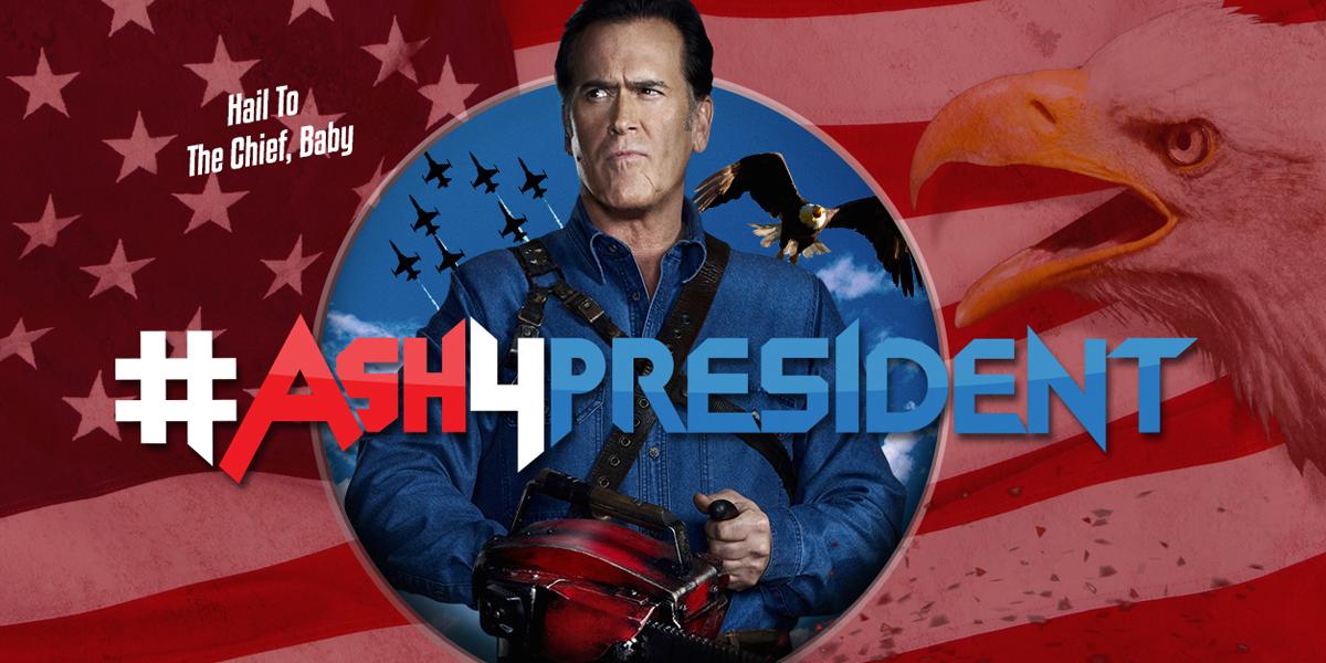 FREE Ash4President Stuff...