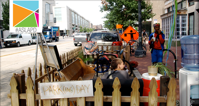 Today is #ParkingDay! Find the closest parklet to you here: http://t.co/FoyfOCzGlo | Share with #ASLAPD! http://t.co/OHTY8QbVYc