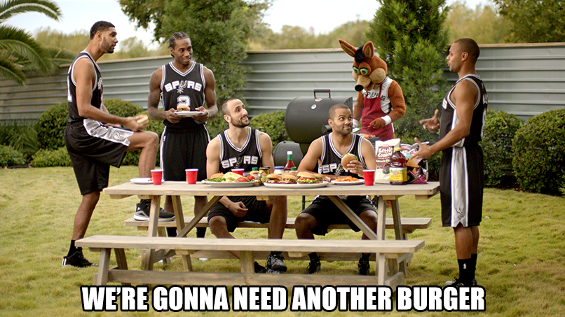 LaMarcus Aldridge joins Tony, Manu, Kawhi, Patty & Tim in our @Spurs ads later this year! http://t.co/VucNqH3fIk http://t.co/psSPjcIgT2