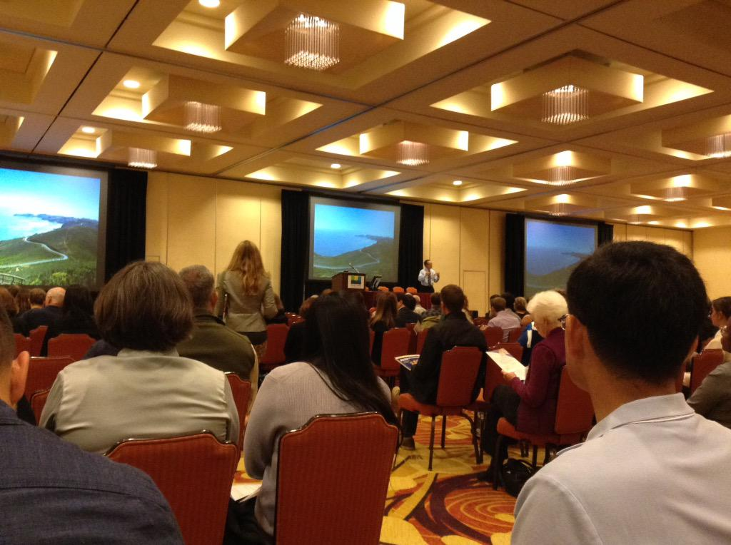 Andy Gunther speaks at the State of the Estuary Conference. Join us at the Oakland Marriott #sfestuary http://t.co/3H12Ex5FcW