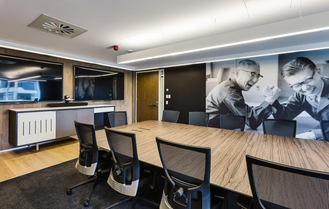 A Fantastic Fit Out Of The Sony Head Office In North Sydney Using Our Award Winning Fendi