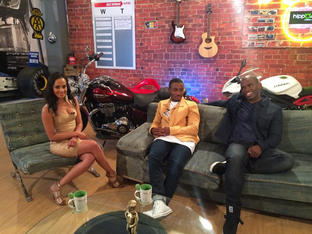 Catch my fun interview with 2 of SA's Hottest male presenters, Lunga & Siv  @MancaveSA tonight at 8:30pm @SABC3