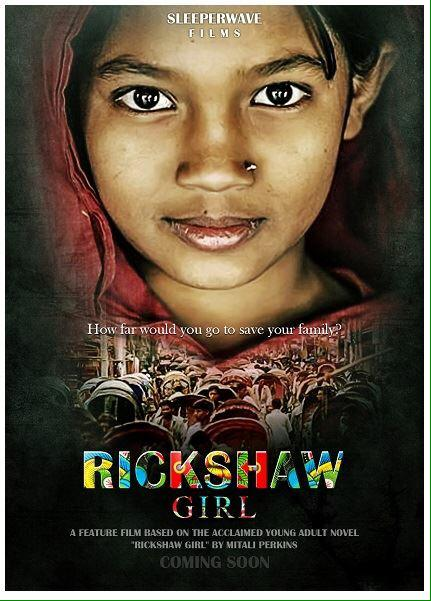 Excited to announce that RICKSHAW GIRL is going to be a movie! https://t.co/n1nF3sAtIW http://t.co/iO6RPQZJBS