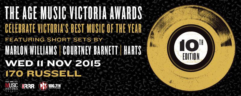 The 10th Edition of The Age Music Victoria Awards is here!