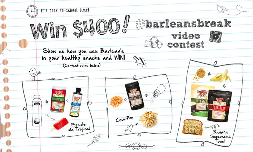 Enter Barleans Break Contest. Enter: http://t.co/ZsyBcjAcpx #RETWEET http://t.co/Cq4r7AYTFX