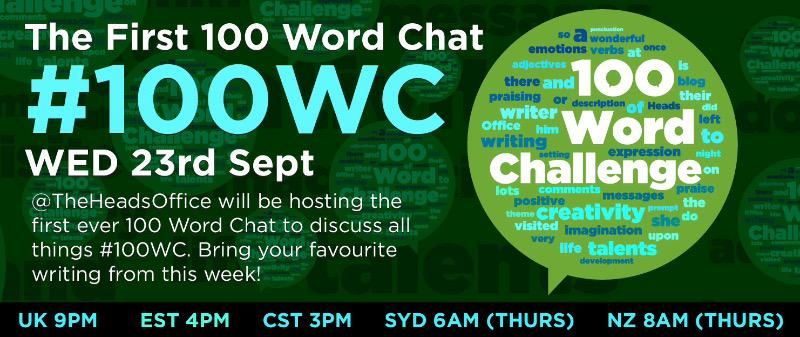 The 100wc / @nightzookeeper team invite you to join us next Weds for #100WordChat & lots of creative wonderfulness! http://t.co/3ZmiQPOm0r