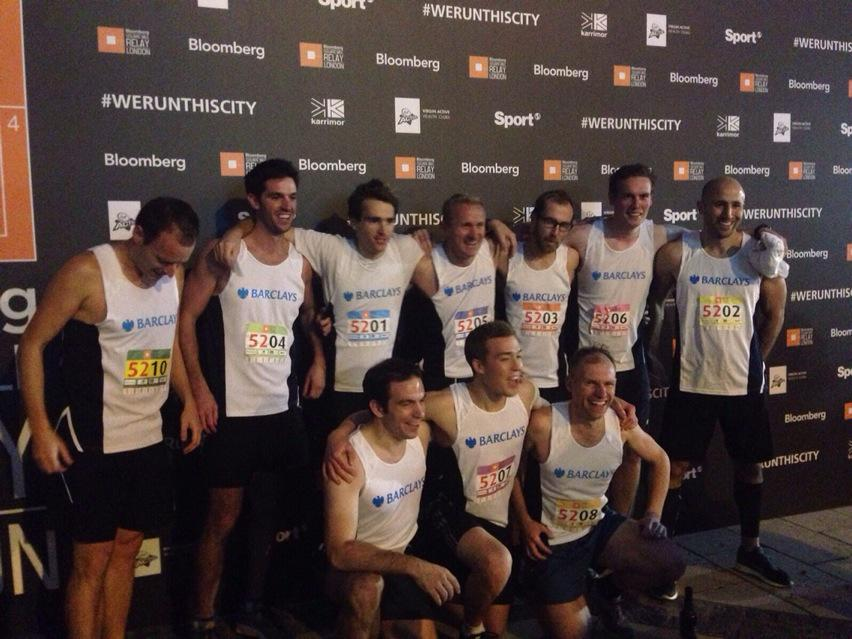 And the winners donating £5,000 to charity @RichardHouseCH are @BarclaysUK Congratulations! #WeRunThisCity